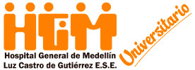 Logo del Hospital General de Medellín Hospital público